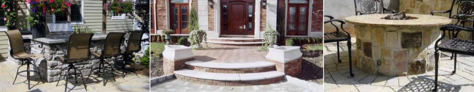 Stone Patios, Walkways, Steps, Stone Walls, Fireplaces, Facades